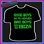 IBIZA LADS HOLIDAY STAG DO PARTY PRINTED TSHIRT